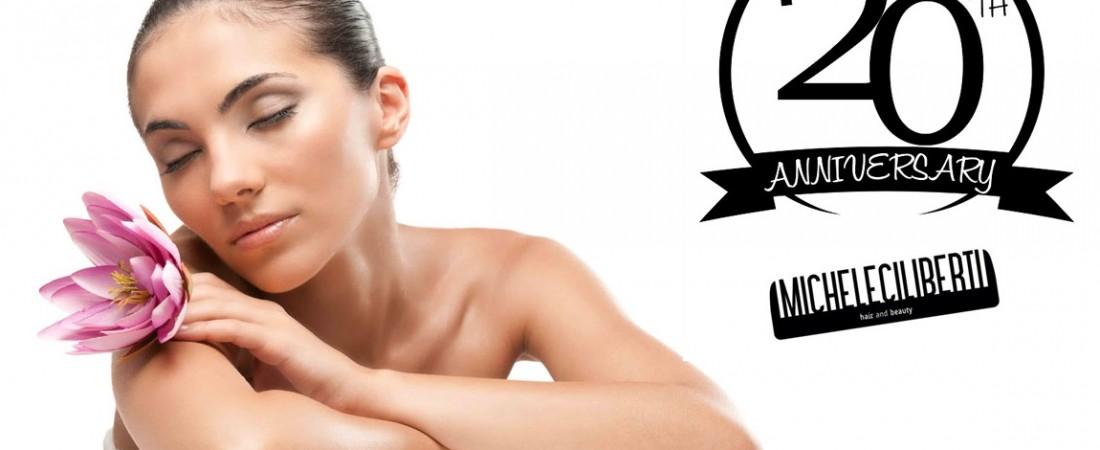 """PROMO BEAUTY – Michele Ciiberti """"Hair and Beauty"""" festeggia i suoi VENT'anni di attività!! … AUGURI …"""