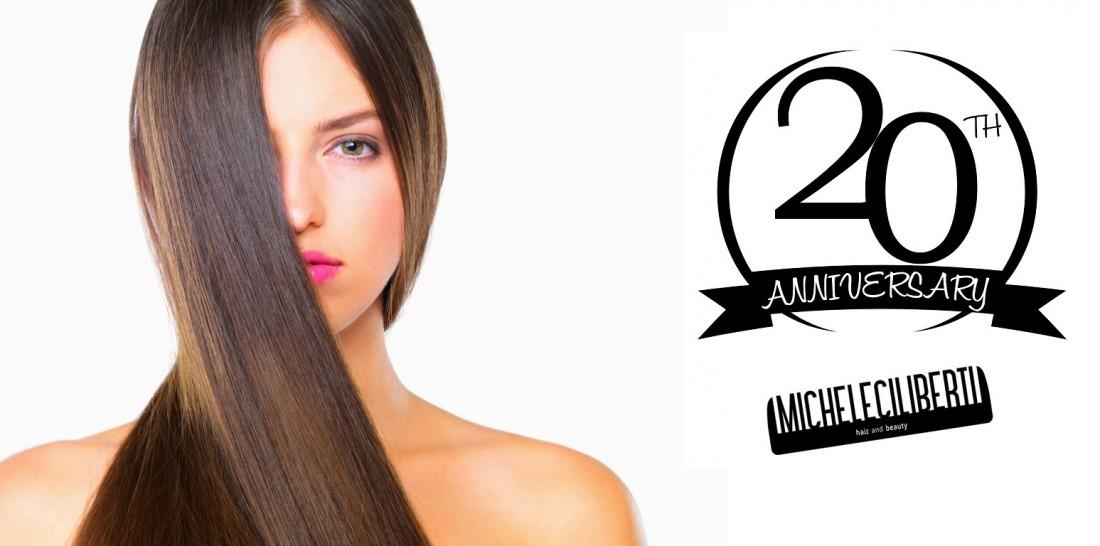"""PROMO HAIR – Michele Ciliberti """"Hair and Beauty"""" festeggia i suoi VENT'anni di attività!! ..AUGURI…"""